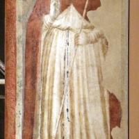 Pietro da rimini e bottega, affreschi dalla chiesa di s. chiara a ravenna, 1310-20 ca., santo papa - Sailko - Ravenna (RA)