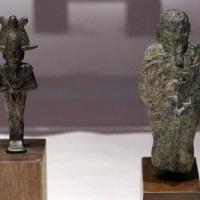 Egitto, osiride mummiforme, bronzo, VIII-IV secolo ac. ca. 02 - Sailko - Ravenna (RA)
