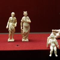 Statuette di santi e angioletti, avorio, italia xvii secolo (san sebastiano xviii) - Sailko - Ravenna (RA)
