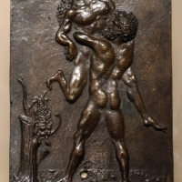 Il moderno (attr.), ercole e anteo - Sailko - Ravenna (RA)