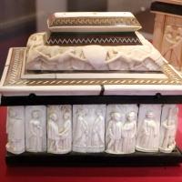 Italia settentrionale, cofanetto con placchette in osso, 1400-1450 ca. 03 - Sailko - Ravenna (RA)