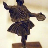 Arte romana imperiale, bronzetti da larario, lare accorrente - Sailko - Ravenna (RA)