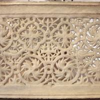 Transenna marmorea traforata, dalla chiesa di san michele in africisco, 500-550 ca. 01 - Sailko - Ravenna (RA)