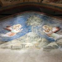Pietro da rimini e bottega, affreschi dalla chiesa di s. chiara a ravenna, 1310-20 ca., natività e annuncio ai pastori 04 - Sailko - Ravenna (RA)