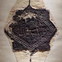 Egitto copto, inserto a stella, lana e lino, 490-510 dc ca - Sailko - Ravenna (RA)