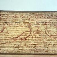Disegno preparatorio su mattoni, dal catino absidale di sant'apollinare in classe, pavoni e cesti, 500-550 ca. 01 - Sailko - Ravenna (RA)