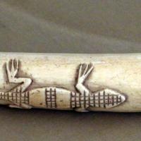 Calabar (nigeria), corno musicale, xvi secolo 01 - Sailko - Ravenna (RA)