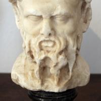 Testa di sileno, I-II secolo dc., prov. ignota - Sailko - Ravenna (RA)