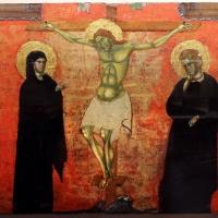 Maestro adriatico dell'ambito di paolo veneziano, crocifissione coi dolenti quattro altri santi, 1300-20 ca - Sailko - Ravenna (RA)