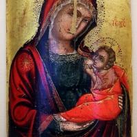 Pittore cretese, madonna del latte (galactotrophousa), xvi-xvii secolo - Sailko - Ravenna (RA)