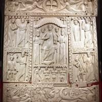 Fattura forse egiziana, coperta di evangeliario detta dittico di murano, avorio, 500-550 ca. 01 - Sailko - Ravenna (RA)