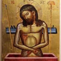 Pittore cretese, cristo in pietà, xv-xvi secolo - Sailko - Ravenna (RA)
