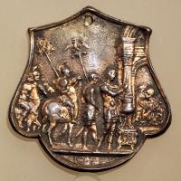 Giovanni fonduli da cremona, muzio scevola, 1490 ca. 0 - Sailko - Ravenna (RA)