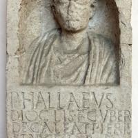 Stele funeraria, 50-100 dc ca, da una necropoli di classe - Sailko - Ravenna (RA)