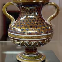 Deruta, vaso con manici, 1500-30 ca - Sailko - Ravenna (RA)