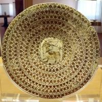 Manises, piatto in maiolica lustrata, 1450-1500 ca. 01 - Sailko - Ravenna (RA)