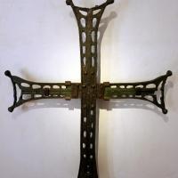 Croce in bronzo, dal tetto di san vitale, VI secolo - Sailko - Ravenna (RA)