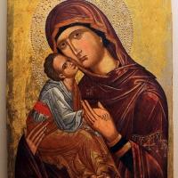 Pittore cretese, madonna della tenerezza (glycophilousa), xvi secolo 0 - Sailko - Ravenna (RA)