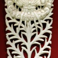 Arte indoportoghese di goa, elemento ramificato con la rappresentazione di dio padre, xvii-xviii secolo - Sailko - Ravenna (RA)