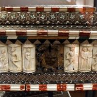 Bottega delle storie di susanna I, cofanetto con storie di susanna, italia del nord, 1425-1450 ca - Sailko - Ravenna (RA)