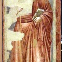 Pietro da rimini e bottega, affreschi dalla chiesa di s. chiara a ravenna, 1310-20 ca., cristo benedicente - Sailko - Ravenna (RA)
