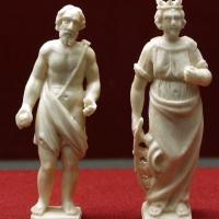 Italia del nord, ss. girolamo e caterina, avorio, xvii secolo - Sailko - Ravenna (RA)