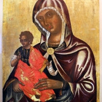 Pittore cretese, madonna della consolazione, xvi secolo 01 - Sailko - Ravenna (RA)