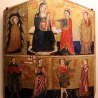 Pittore marchigiano, sposalizio mistico di s. caterina e altri santi, xiv-xv secolo - Sailko - Ravenna (RA)