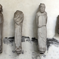 Statue-colonne, 1150-75 ca, da s. vitale - Sailko - Ravenna (RA)