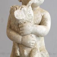 Bambino con cane, I secolo dc, da s. zaccaria, ravenna - Sailko - Ravenna (RA)