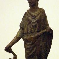 Arte romana imperiale, bronzetti da larario, lare stante - Sailko - Ravenna (RA)