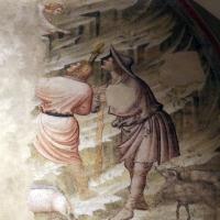 Pietro da rimini e bottega, affreschi dalla chiesa di s. chiara a ravenna, 1310-20 ca., natività e annuncio ai pastori 05 - Sailko - Ravenna (RA)