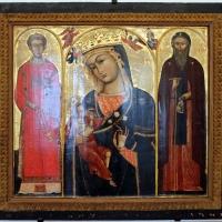Anonimo, vergine incoronata coi ss. lorenzo e antonio abate, xii-xiii secolo - Sailko - Ravenna (RA)