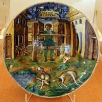 Forlì, catinetto, 1562, 01 anchor io spero - Sailko - Ravenna (RA)