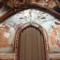 Pietro da rimini e bottega, affreschi dalla chiesa di s. chiara a ravenna, 1310-20 ca., crocifissione 01 - Sailko - Ravenna (RA)