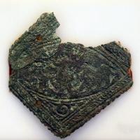 Placchetta con daniele nella fossa dei leoni, V secolo - Sailko - Ravenna (RA)