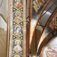 Pietro da rimini e bottega, affreschi dalla chiesa di s. chiara a ravenna, 1310-20 ca., intradosso con angeli e santi 01 - Sailko - Ravenna (RA)