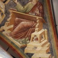 Pietro da rimini e bottega, affreschi dalla chiesa di s. chiara a ravenna, 1310-20 ca., volta con evangelisti e dottori, marco - Sailko - Ravenna (RA)