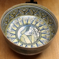 Deruta, tazza, 1500-30 ca - Sailko - Ravenna (RA)
