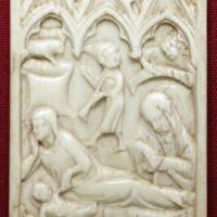 Francia settentrionale (forse), anta di dittico con la natività, 1370-1400 ca - Sailko - Ravenna (RA)
