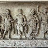 Rilievo di altare monumentale con processione sacrficale (personaggi della gens claudia), 42-43 dc, dalla zona di s. vitale-mausoleo di galla placidia 02 - Sailko - Ravenna (RA)