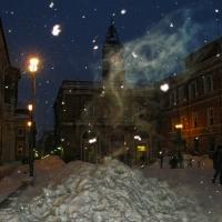 Giochi di luci e neve in piazza - Gianni Saiani - Ravenna (RA)