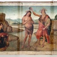Bartolomeo di giovanni, battesimo di cristo, 1480-1500 ca - Sailko - Ravenna (RA)
