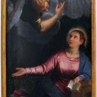 Pittore veneto, annunciazione, 1590-1610 ca - Sailko - Ravenna (RA)