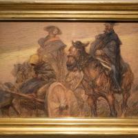 Vittorio guaccimanni, soldati a cavallo in manovra - Sailko - Ravenna (RA)