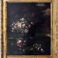 Antonio mezzadri, cesta e vaso con fiori (bo) - Sailko - Ravenna (RA)