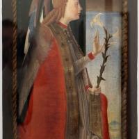 Pittore ferrarese, arcangelo gabriele, xv secolo - Sailko - Ravenna (RA)