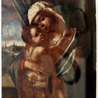 Niccolò rondinelli, madonna col bambino, 1470-1500 ca. (romagna) - Sailko - Ravenna (RA)
