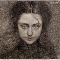 Domenico beccarini, testa di donna (la bitta), 1903 - Sailko - Ravenna (RA)