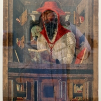 Artista emiliano, san girolamo nello studio, xv secolo - Sailko - Ravenna (RA)